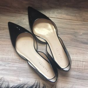 Pointy Patent Leather Flats